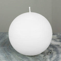 White Ball Candle | Large 4