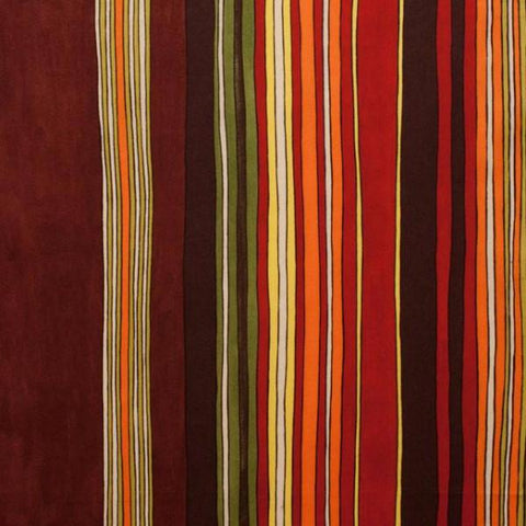 Fabric Alexander Henry Fabrics Africa by Alexander Henry - Jaafar in Tangerine and Chocolate