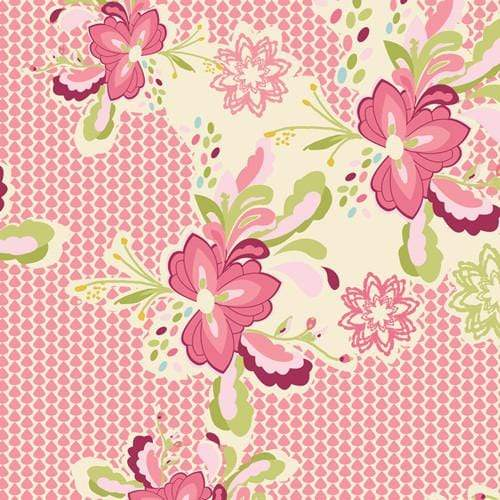 Fabric Art Gallery Fabrics LillyBelle by Bari J - Flowerpop Sweet