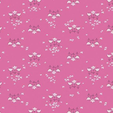 Fabric Art Gallery Fabrics Playground by Amy Sinibaldi - Posy Chain Pinktense