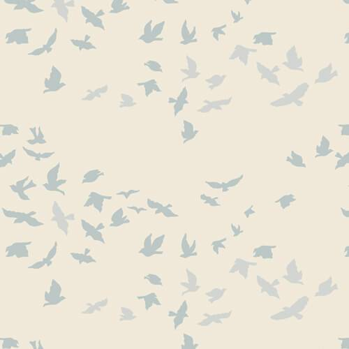 Fabric Art Gallery Fabrics Serenity Fusion - Aves Chatter