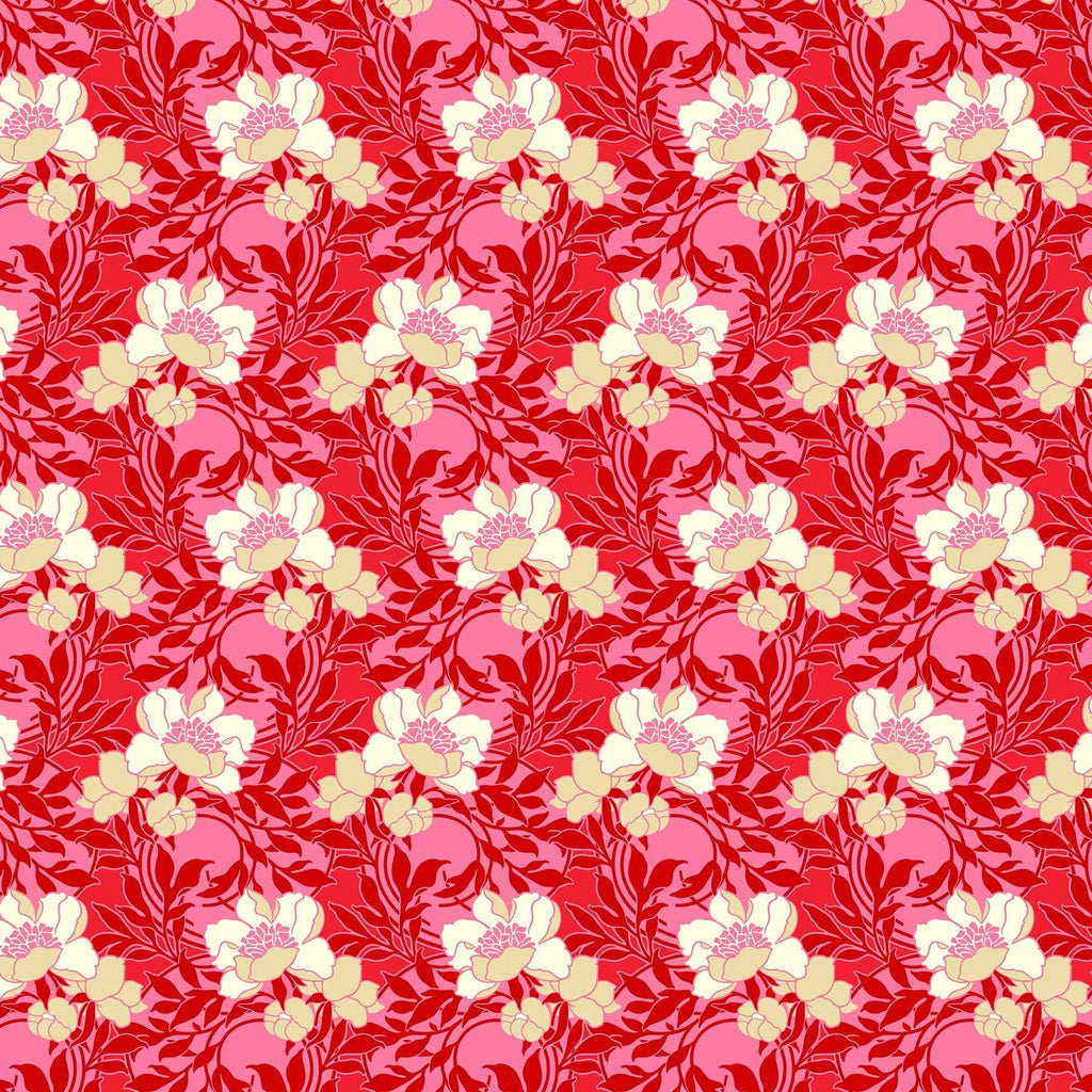 Fabric Figo Fabrics True Kisses by Heather Bailey - Smitten in Rouge