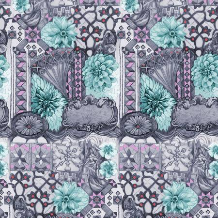Fabric Free Spirit English Summer by Anna Maria Horner - Tourist in Amethyst