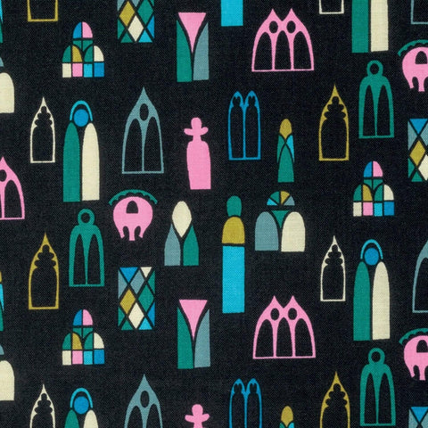 Fabric Free Spirit Fibs & Fables by Anna Maria Horner - Escape in Midnight