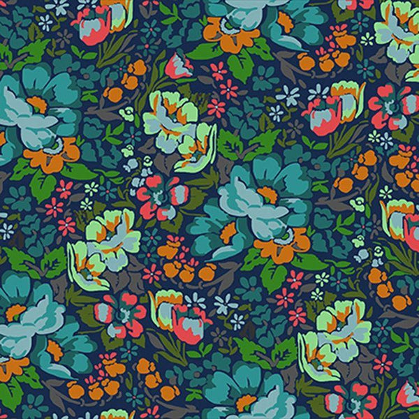 Fabric Free Spirit Floral Retrospective by Anna Maria Horner - Overachiever in Mystery