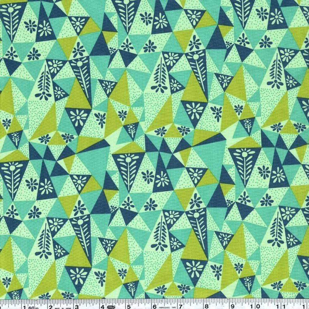 Fabric Free Spirit Sweet Dreams by Anna Maria Horner - Garden Prism in Lichen