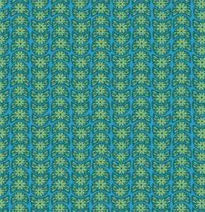 Fabric Free Spirit True Colors by Anna Maria Horner - Crescent Bloom in Turquoise