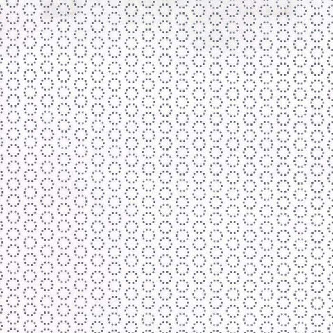 Fabric Moda Best Day Ever by April Rosenthal - Dot Matrix in White