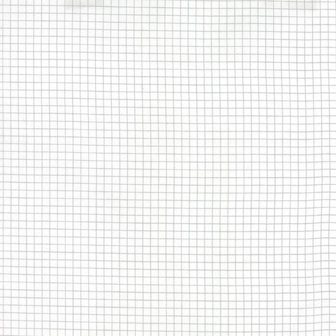 Fabric Moda Best Day Ever by April Rosenthal - Graph Paper in White
