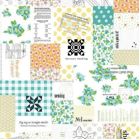 Fabric Moda Sew & Sew by Chloe's Closet - Patchwork in Fruity