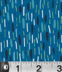 Fabric P&B Textiles VeloCity by Jessica Hogarth - Traffic Jam in Blue