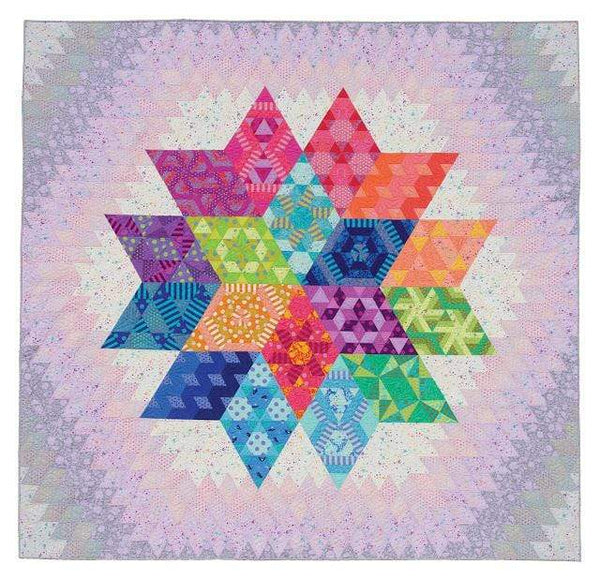 Kit Free Spirit Nebula by Jaybird Quilts - Block of the Month