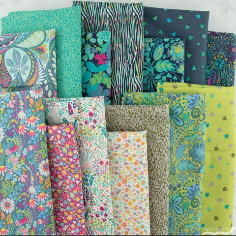 Precuts Windham Fabrics Solstice by Sally Kelly -  Celestial FQ Bundle