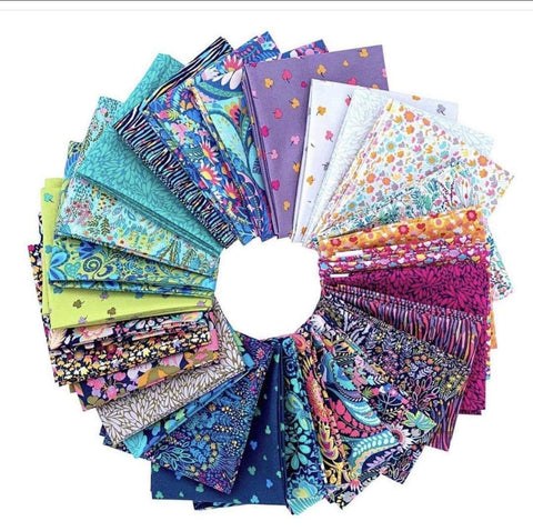 Precuts Windham Fabrics Solstice by Sally Kelly - FQ Bundle