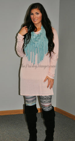 Bubblegum Tunic Dress