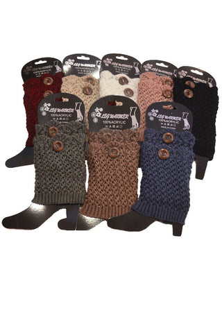 1 Button Boot Cuffs