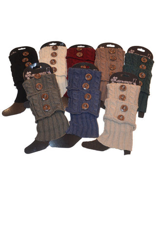 2 Button Boot Cuffs