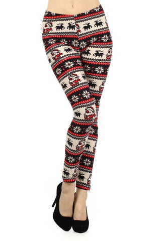 Christmas Leggings- Santa/Reindeer