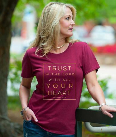 Trust In The Lord Tee