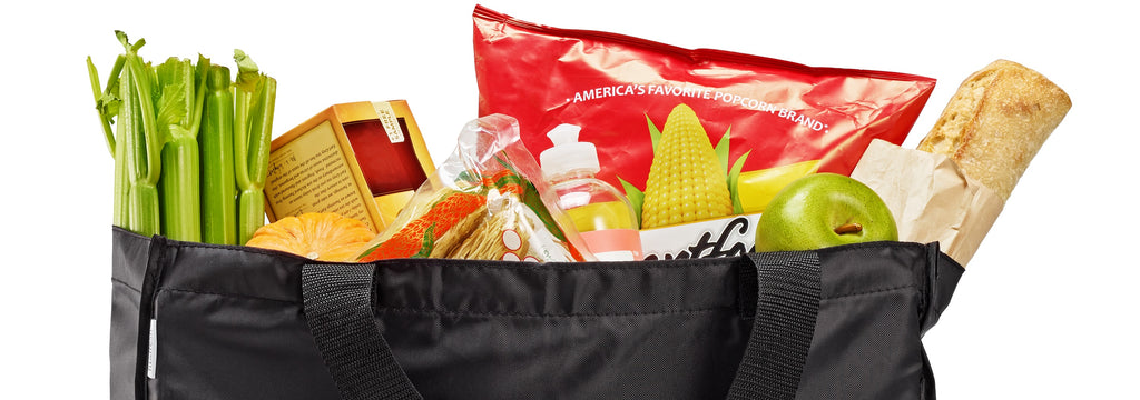 Reusable grocery totes!