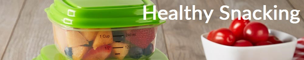 Fit & Fresh Healthy Snack Containers