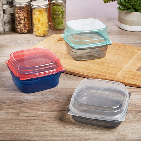 Mix & Match 10 Piece Container Set - Plastic Container - Fit & Fresh