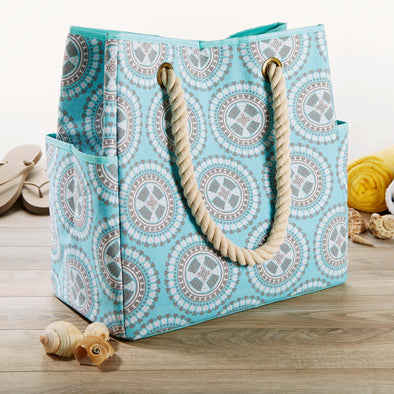 East Hampton Insulated Beach Bag - Beach Bag - Fit & Fresh