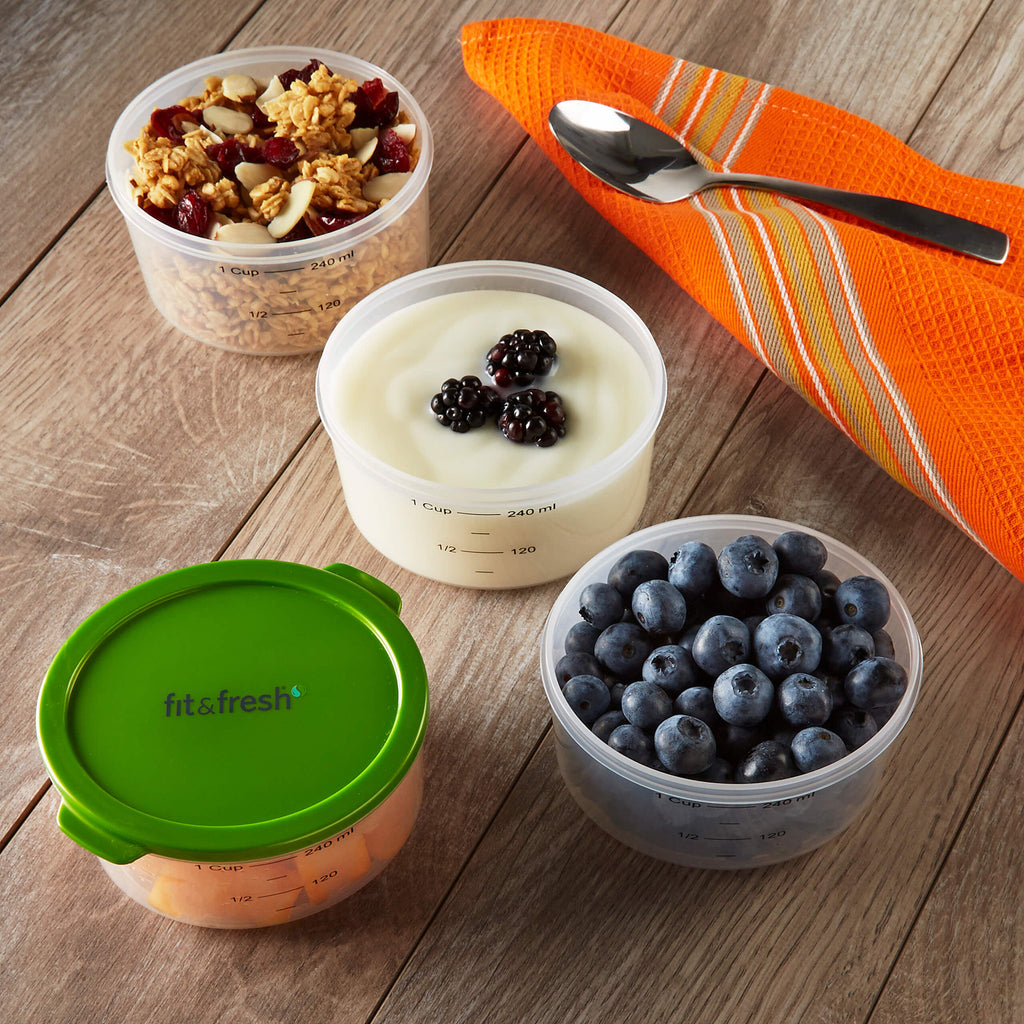 Smart Portion 1 Cup Chilled Container Set