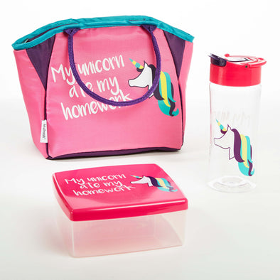 Thalia Kids' Lunch Kit (Unicorn) - Kids' Bag Kit - Fit & Fresh