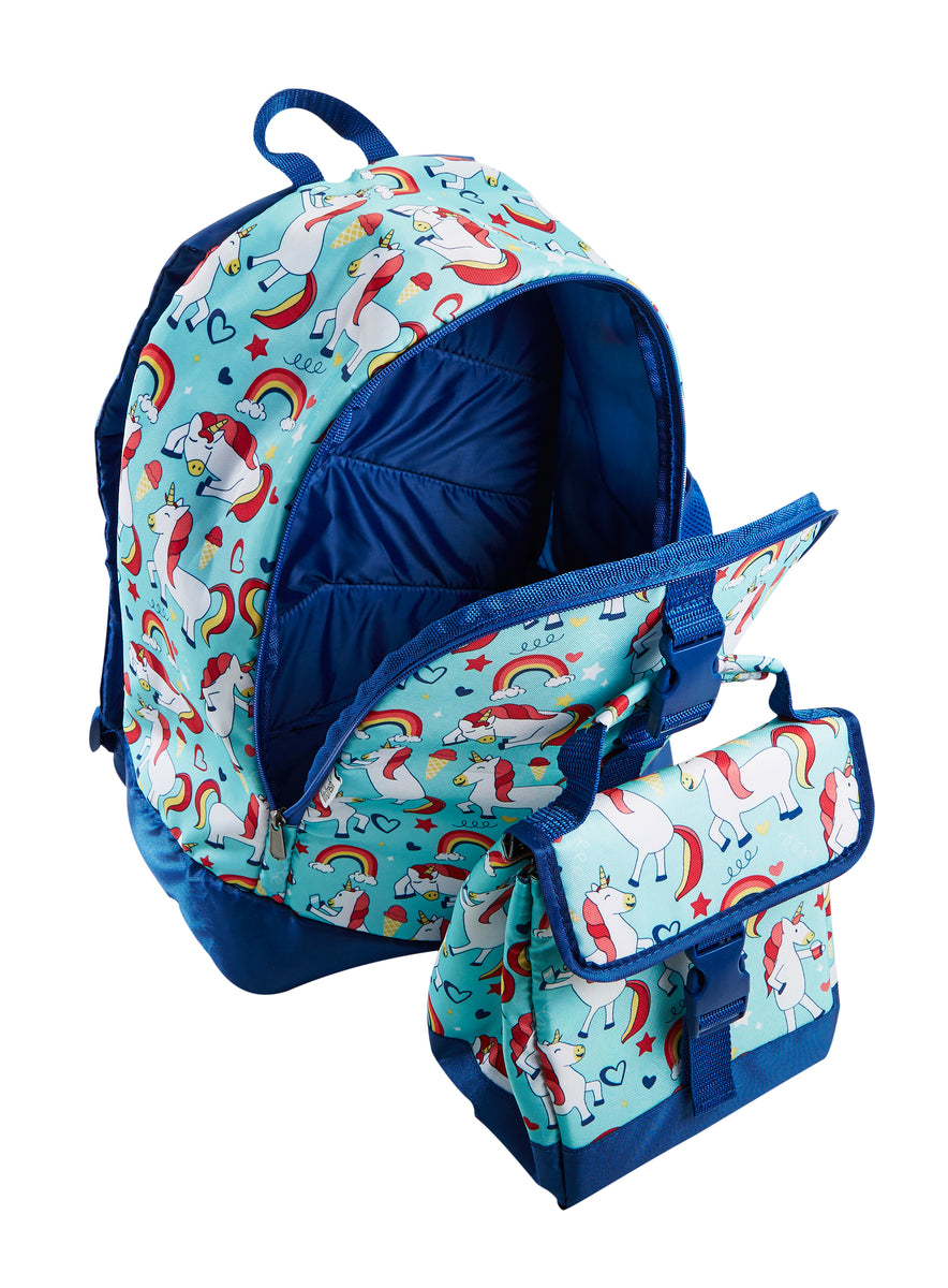 Elena Kids School Backpack Amp Matching Insulated Lunch Bag