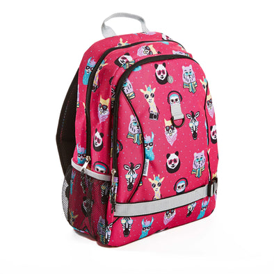 Hipster Animals Kid's Backpack - Kids' Bag - Fit & Fresh