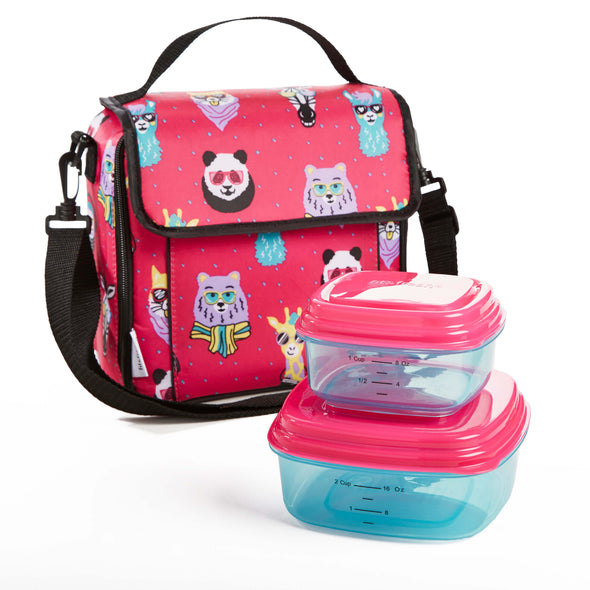Marlowe Kids' Insulated Lunch Bag Set - Kids' Bag Kit - Fit & Fresh
