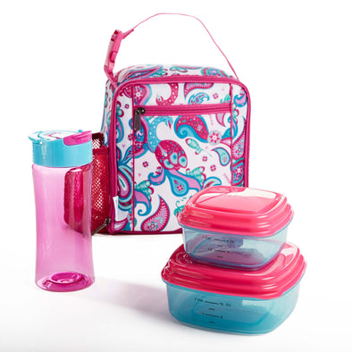 Scout Kids' Insulated Lunch Bag Set - Kids' Bag Kit - Fit & Fresh