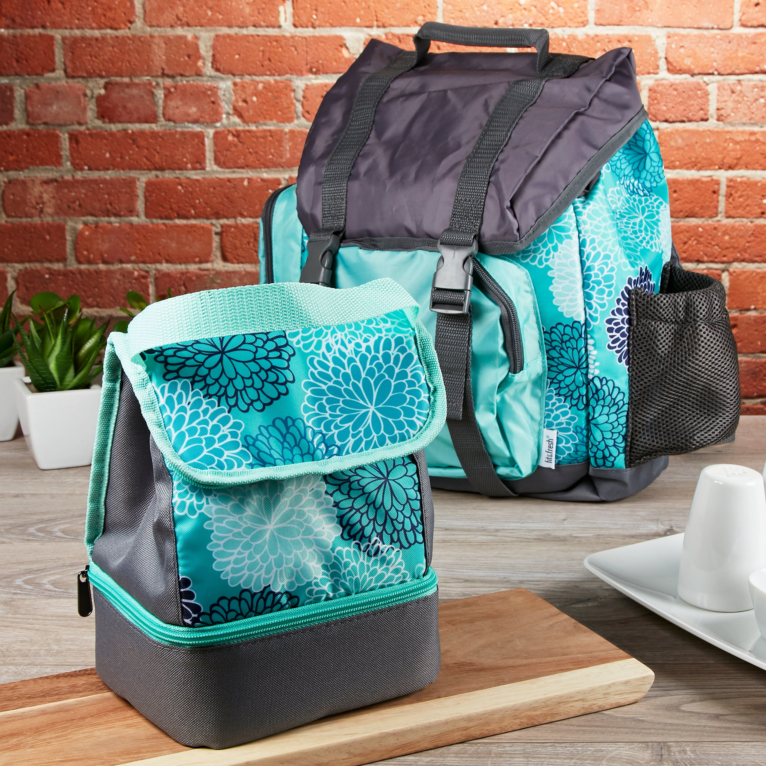 Kids' Adventure Rucksack BackPack & Matching Insulated Lunch Bag