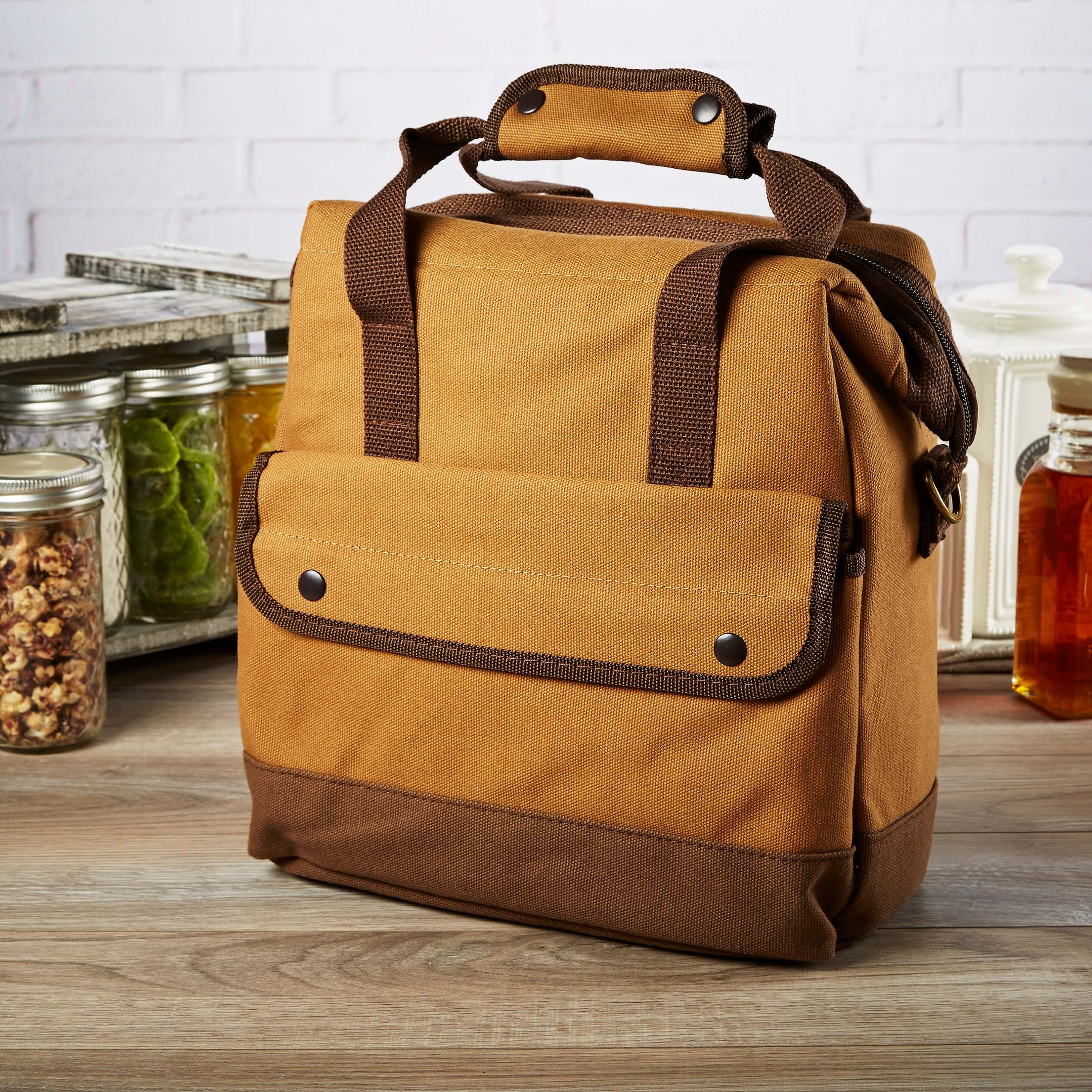 62e42429230d Fit & Fresh   Douglas Insulated Lunch Bag & Ice Pack, Men's Lunch Box