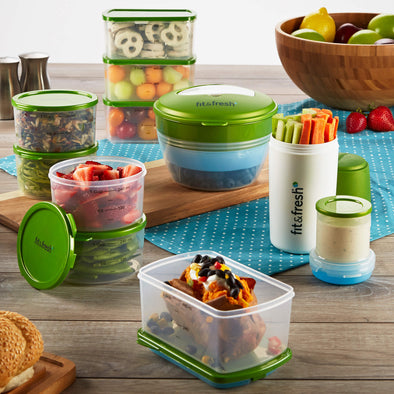 Perfect Portion Kit - Plastic Container - Fit & Fresh