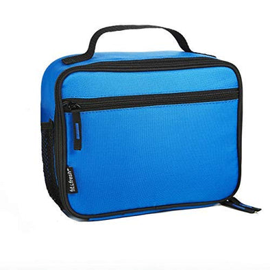 Blue Insulated Soft-Sided Lunch Box -  - Fit & Fresh