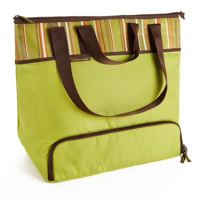 Rachael Ray Large Insulated Lugger Tote - Casserole Carrier - Fit & Fresh