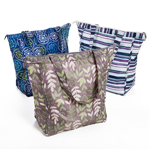 Rachael Ray Market Tote Bags Gift Boxed Set Of 3 Fit