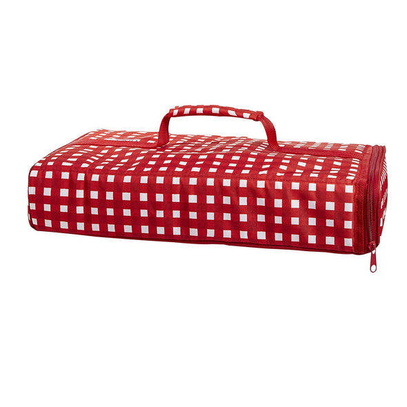 Red Gingham Insulated Casserole Carrier - Casserole Carrier - Fit & Fresh