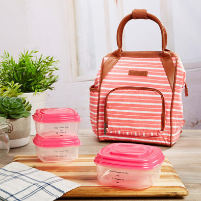 Piper Mini Backpack with Reusable Container Set - Travel - Fit & Fresh