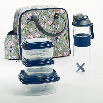 Wichita Insulated Lunch Bag Set -  - Fit & Fresh