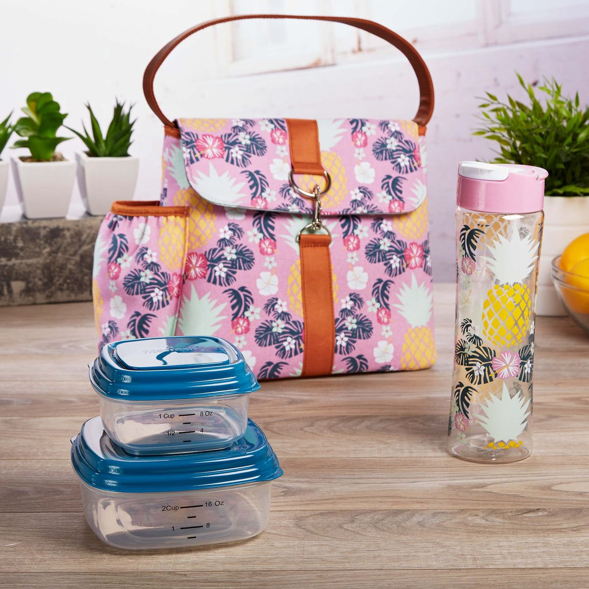 Fit Amp Fresh Fayetteville Insulated Lunch Bag Container