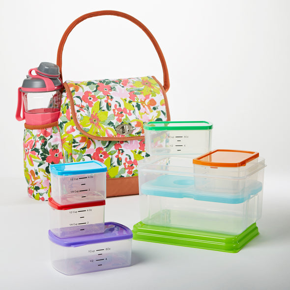 Elko Lunch Bag Kit with MyPlate Container Set -  - Fit & Fresh