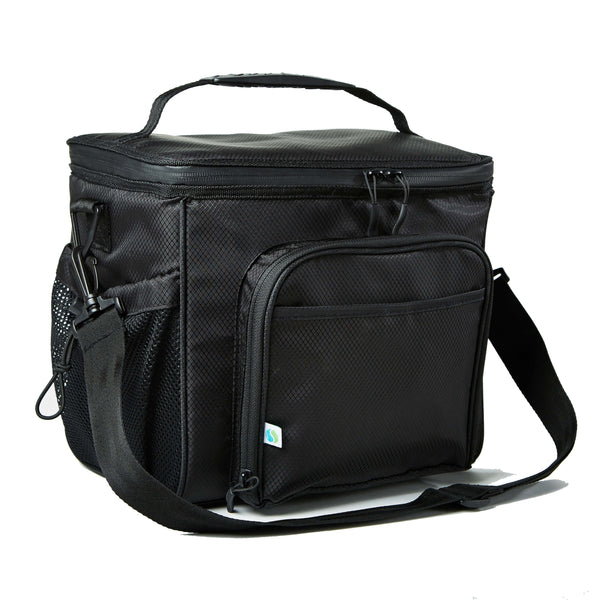 Large Insulated Cooler Bag (Black) - Cooler - Fit & Fresh