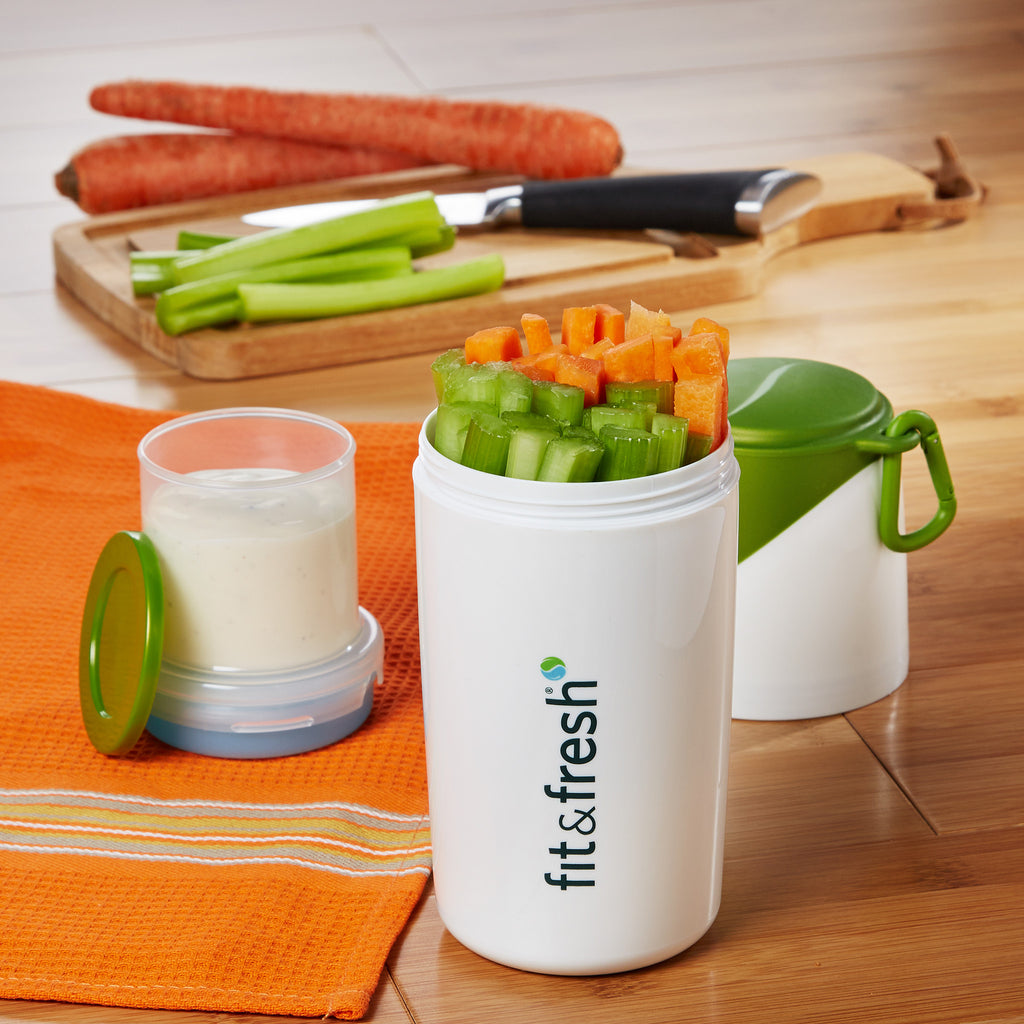 Smart Portion Chilled Snack Container Fit Amp Fresh