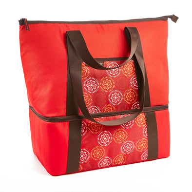 Rachael Ray Double Decker Chillout Tote (Red) - Rachael Ray - Fit & Fresh