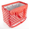 Rachael Ray Large Capacity Wide-Mouth Cooler Bag (Coral Bias Plaid) - Rachael Ray - Fit & Fresh