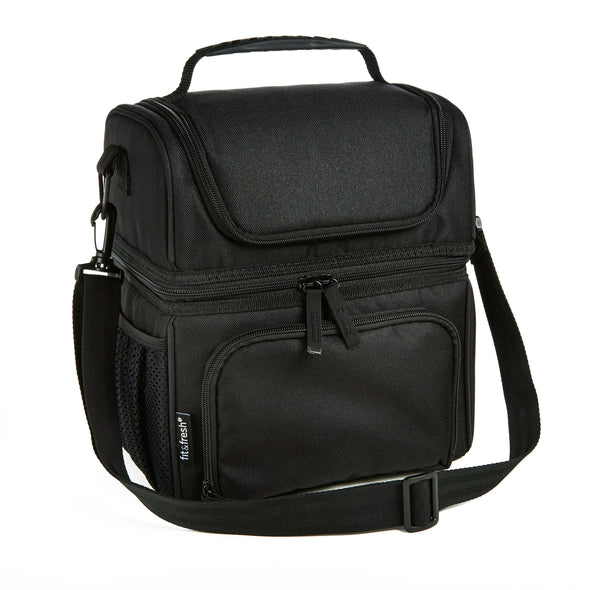 Extra Large Dual Compartment Lunch Bag - Mens' Bag - Fit & Fresh