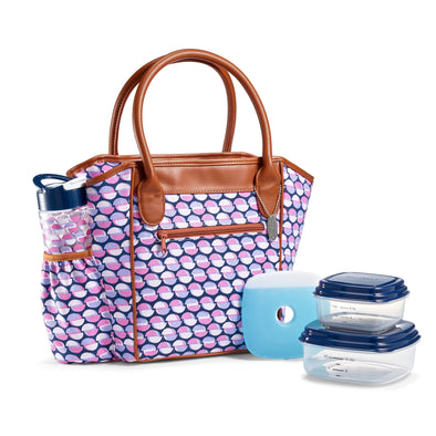 Stamford Insulated Lunch Bag Set - Ladies' Bag - Fit & Fresh